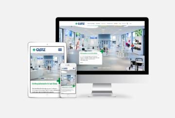 Sanitätshaus Glotz – Redesign